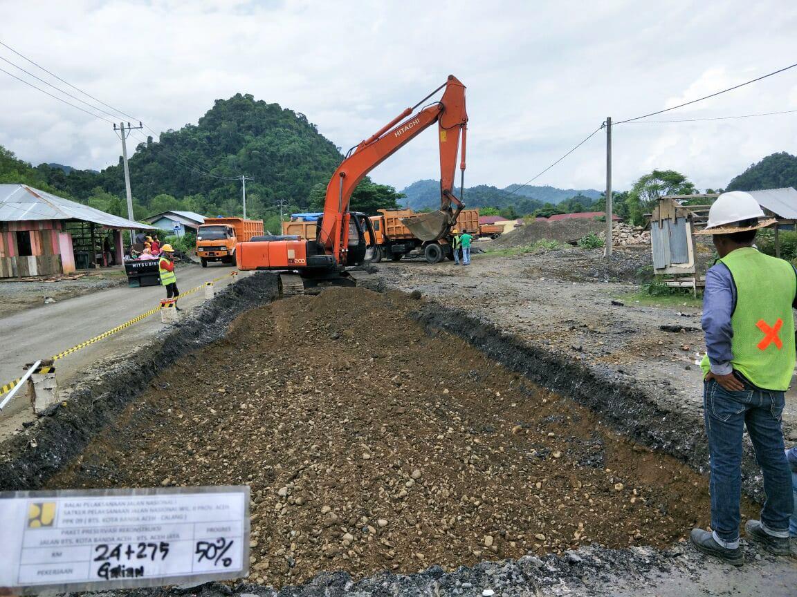 Poin 7 a).......... Preservasi Rekonstruksi Bts Kota Banda Aceh - Bts Aceh Jaya
